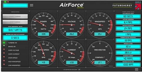 AirForce app interface