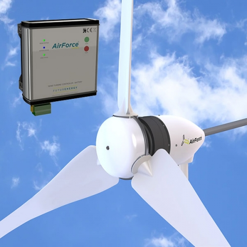 Wind turbine and AirForce technology