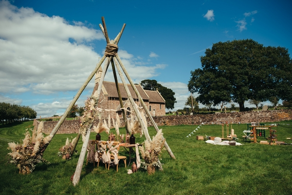 Tipi at The Orchard