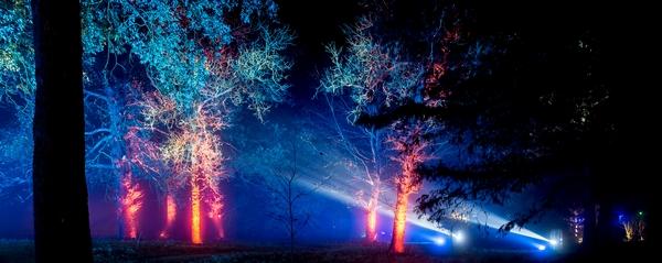Illuminated trails