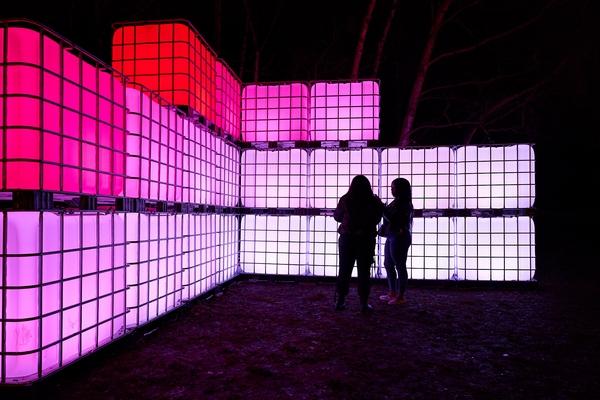 outdoor lights exhibition