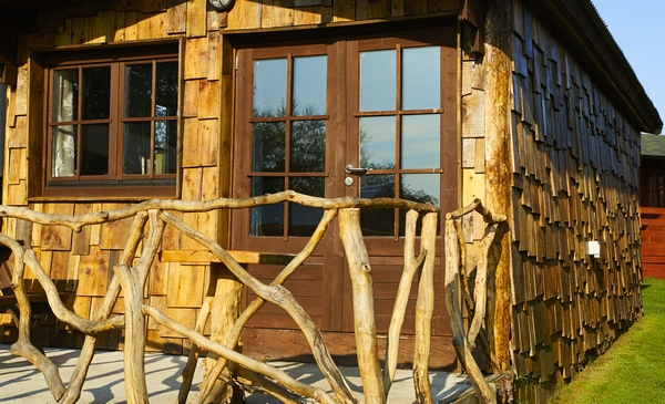 Pinewood Park glamping houses