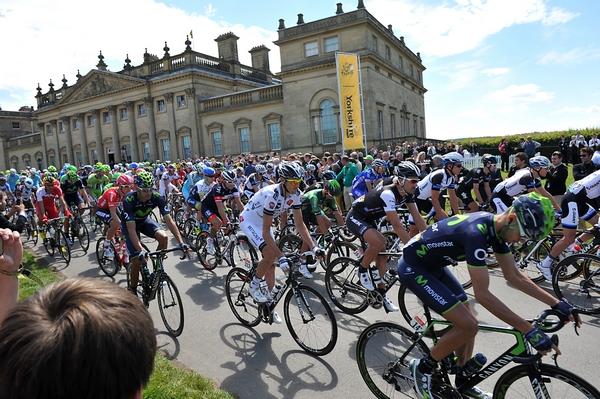 Harewood House bike race