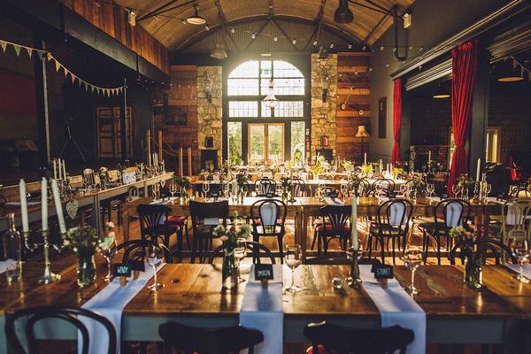 Wedding dinner at Mount Druid