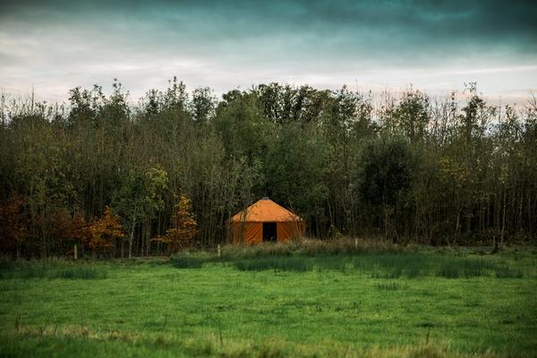 Mount Druid glamping tent