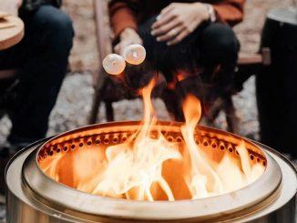 Smoke free solo stove