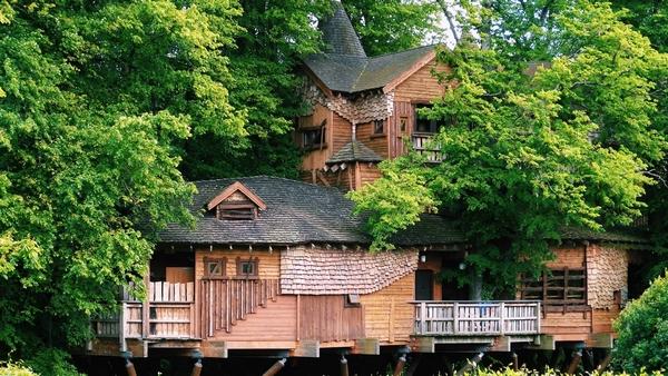 The Alnwick Garden treehouse