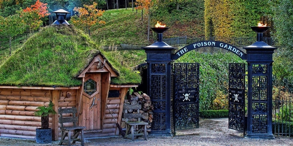 The Alnwick Garden hut