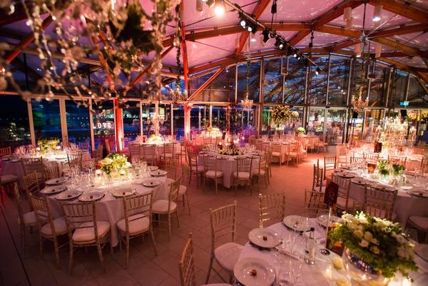 The Alnwick Garden wedding event