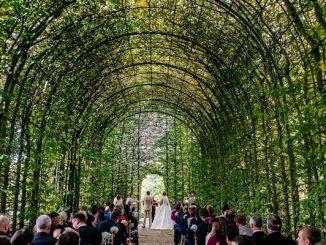 Wedding at The Alnwick Garden