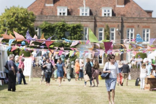 Wealden Times Midsummer Fair crowd