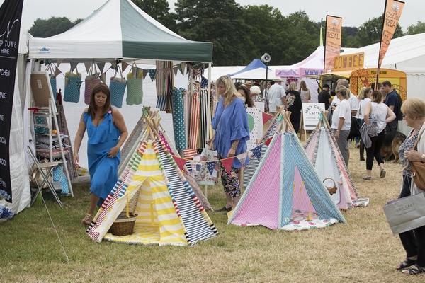 Wealden Times Midsummer Fair tipis
