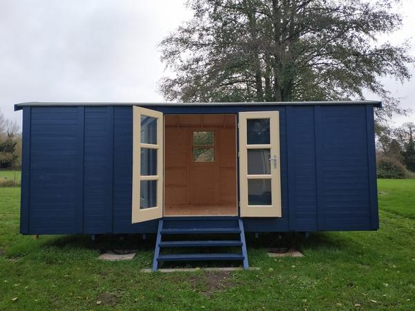 County sligo hut exterior