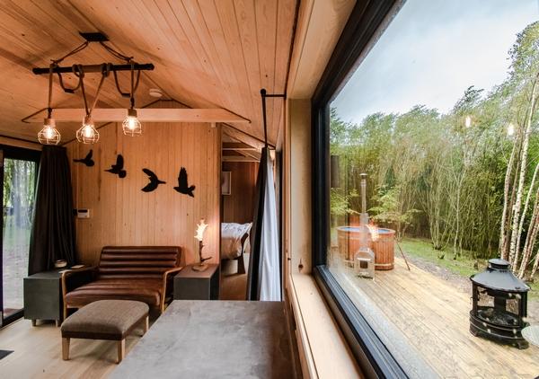Downash cabin interior