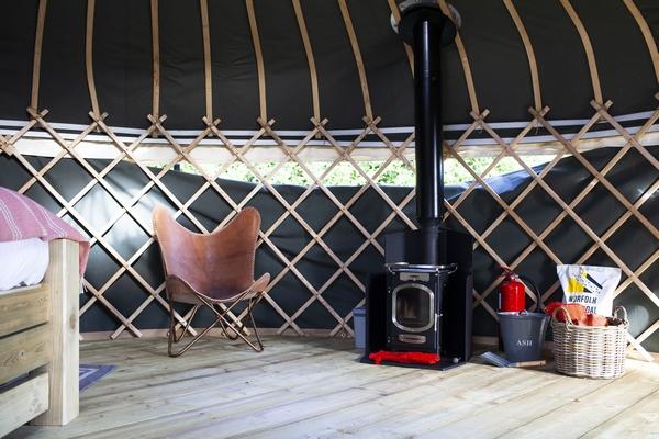 Raynham Estate living space interior