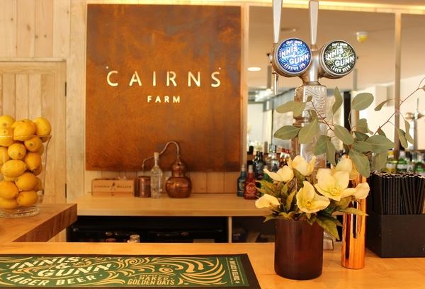 Cairns Farm Estate bar