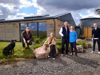 Caroline Hamilton and family