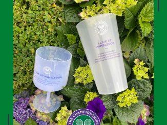 Wimbledon Tennis reusable cups