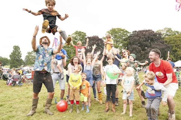 Group of people at Deer Shed Festival
