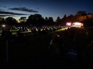 People attending Broadlands in Hampshire