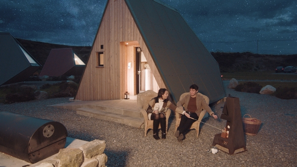 Sperrin View Glamping couple