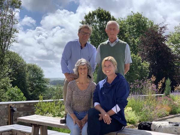 Family at Lawrenny Estate