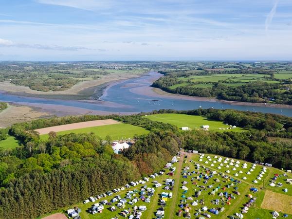 Lawrenny Estate aerial shot