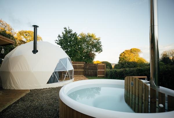 Lawrenny Estate glamping accommodation
