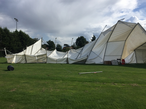 Tents at an event