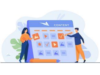 Social Media Planning cartoon