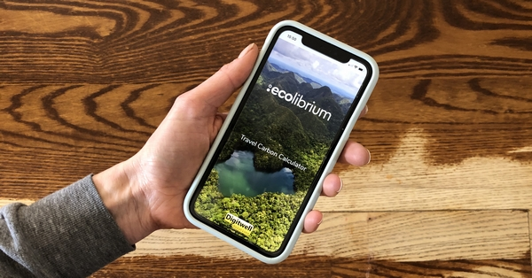 Phone with ecolibriums website
