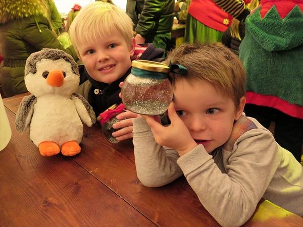 Children at Believe Christmas