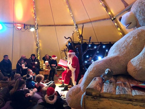 Santa at Believe Christmas