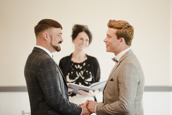 Husbands getting married
