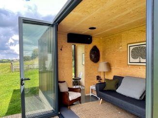 SteelPad shipping container conversion
