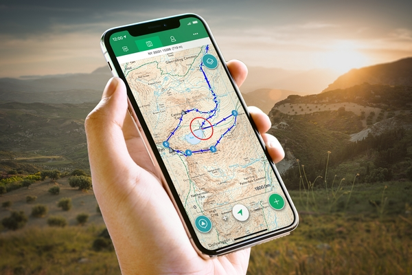 App for walking routes