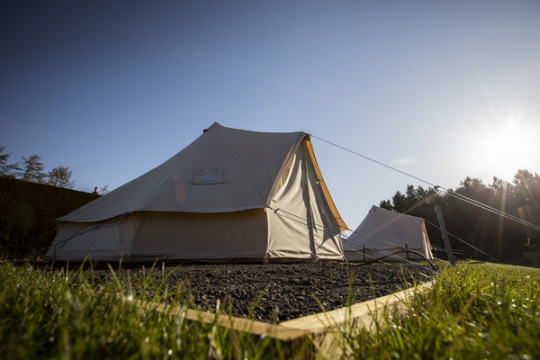 Cheviot Brewery and Glamping tent