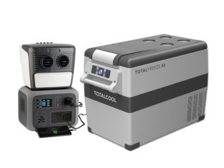 Portable Air Cooling, Fridge/Freezer and Power Packs