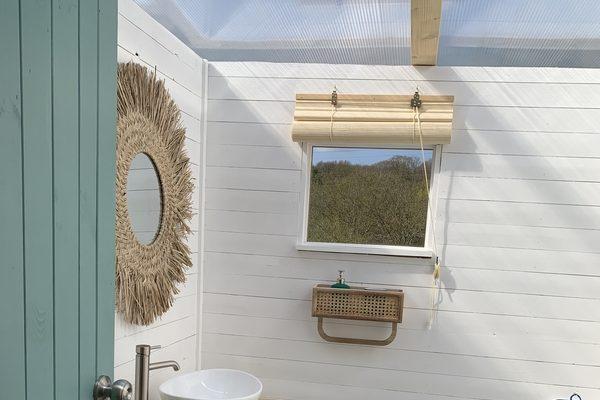 Star Field Camping bathroom