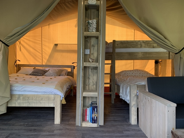 Star Field Camping accommodation interior