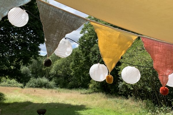 Star Field Camping bunting